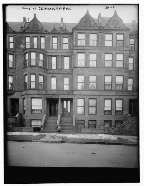 House of C.E. Hughes, N.Y.
