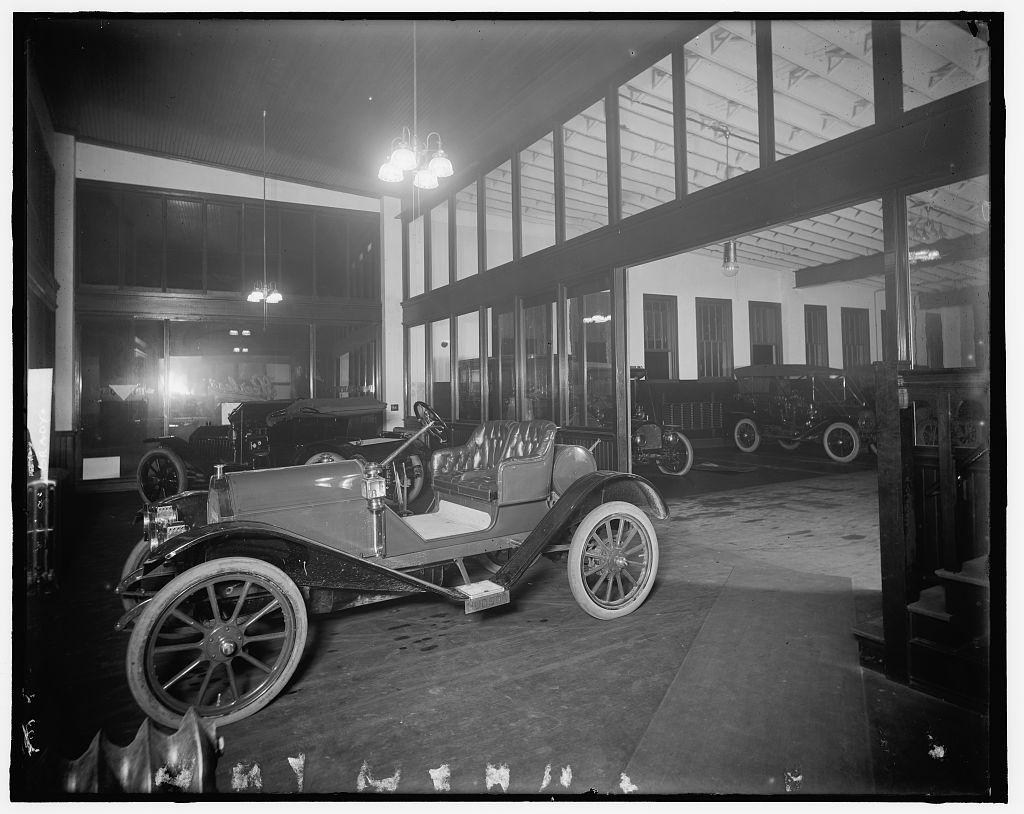 [Hudson automobile, possibly in Hudson Motor Car Co., Detroit, Michigan]