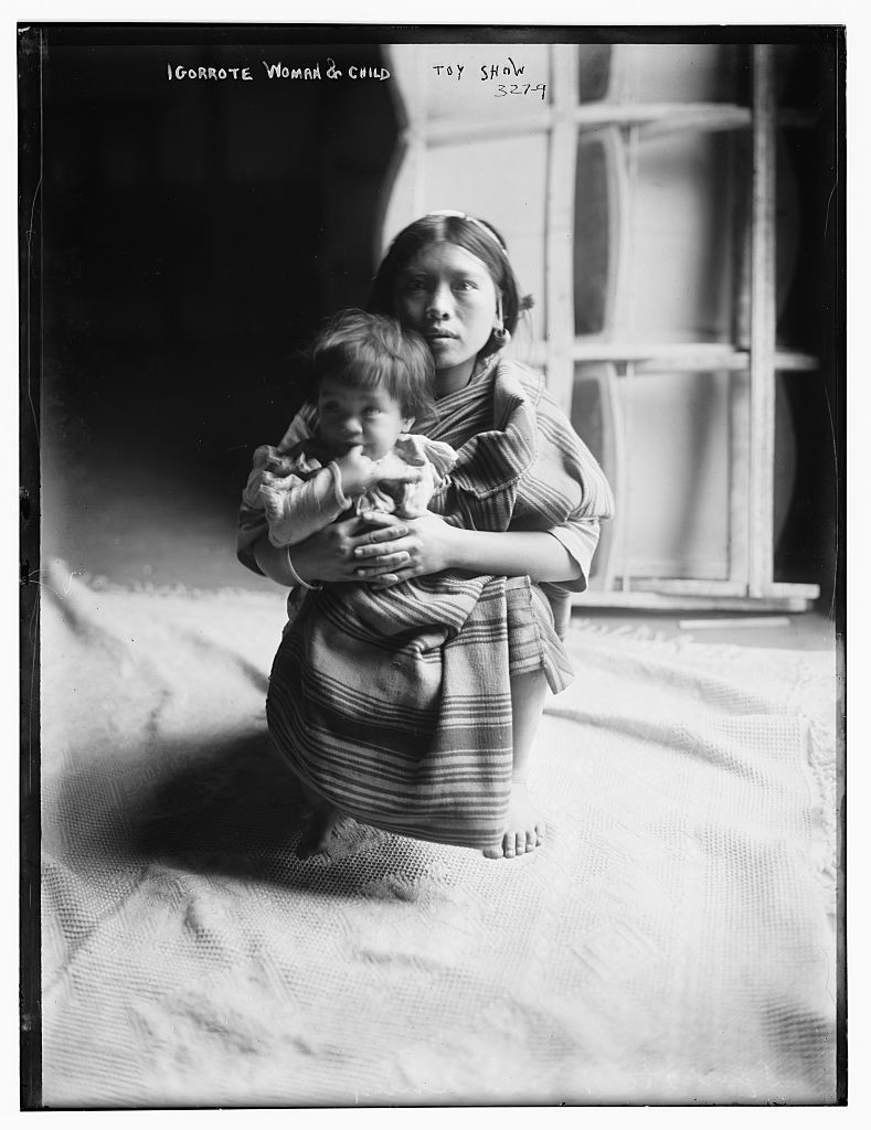 Iggorote woman & Child
