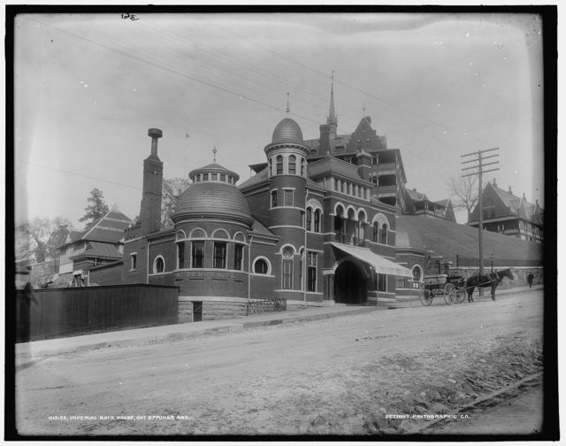 Imperial Bath House, Hot Springs, Ark.