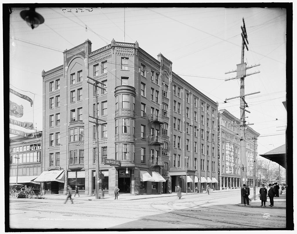 Imperial Hotel Niagara Falls N Y Picryl Public Domain Image