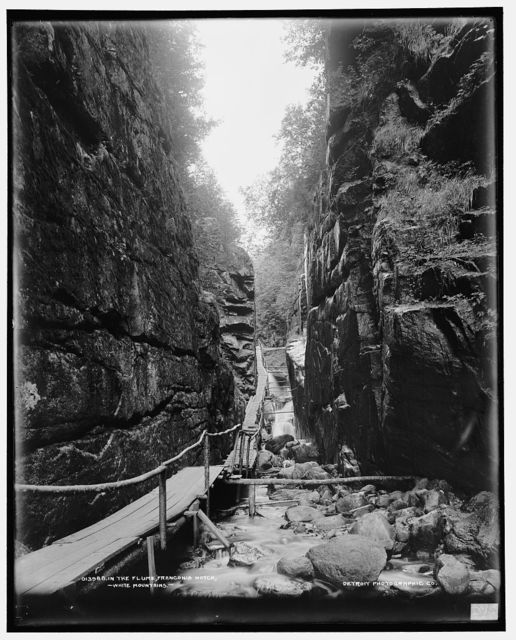 In the Flume, Franconia Notch, White Mountains