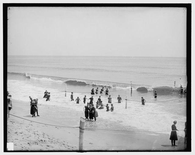 [In the surf, Asbury Park, N.J.]