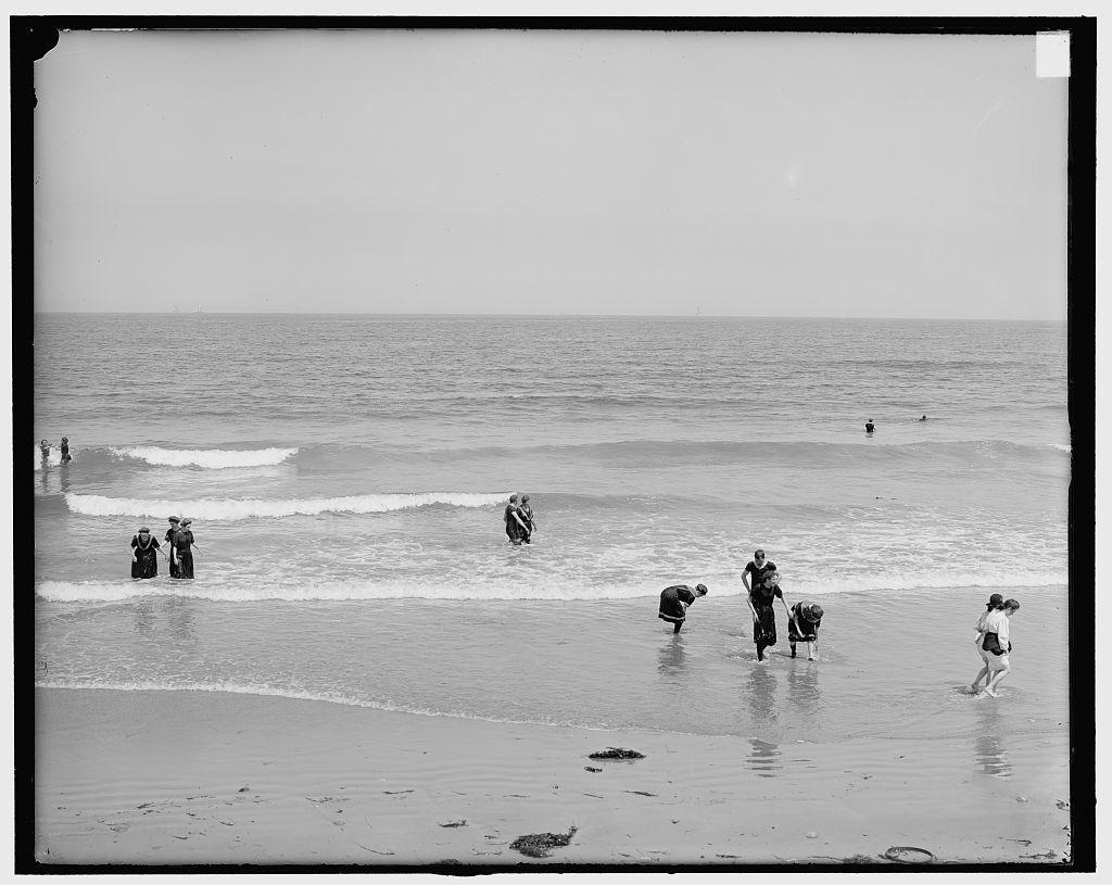 [In the surf, Nantasket Beach, Mass.]