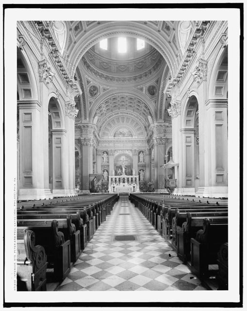 Interior, Sts. Peter & Paul Cathedral, Philadelphia, Pa.