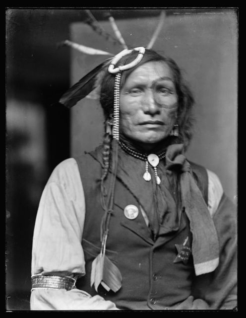 [Iron White Man, a Sioux Indian from Buffalo Bill's Wild West Show]