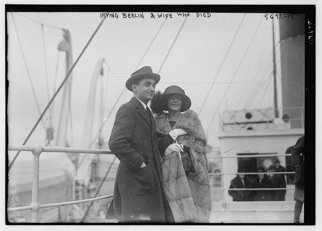 Irving Berlin and wife who died