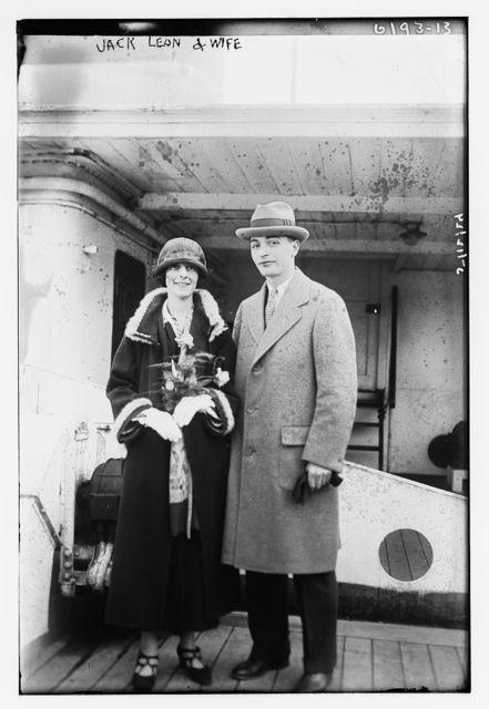 Jack Leon & wife