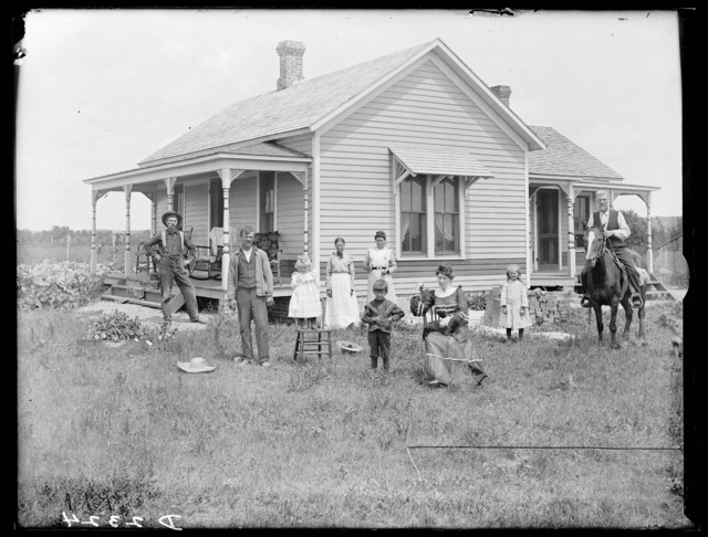 James Wallace Family, Amherst, Buffalo County, Nebraska.