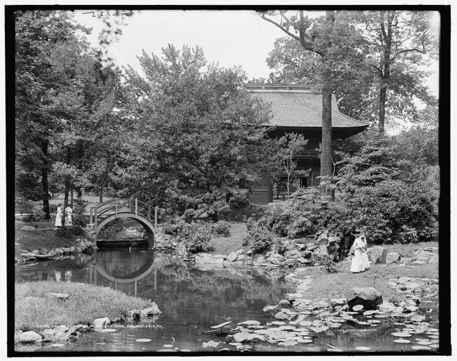 Japanese garden, Fairmount Park, Philadelphia, Pa.