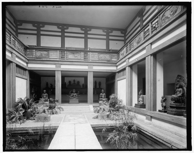[Japanese gardens, Museum of Fine Arts, Boston, Mass.]