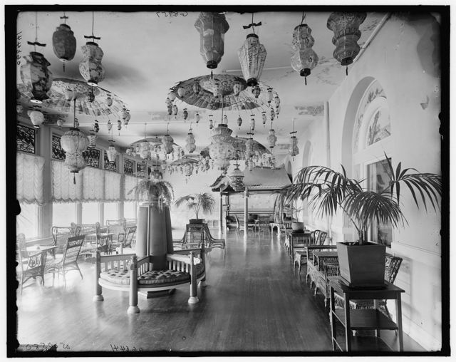 [Japanese sun parlor, the Homestead, Hot Springs, Va.]