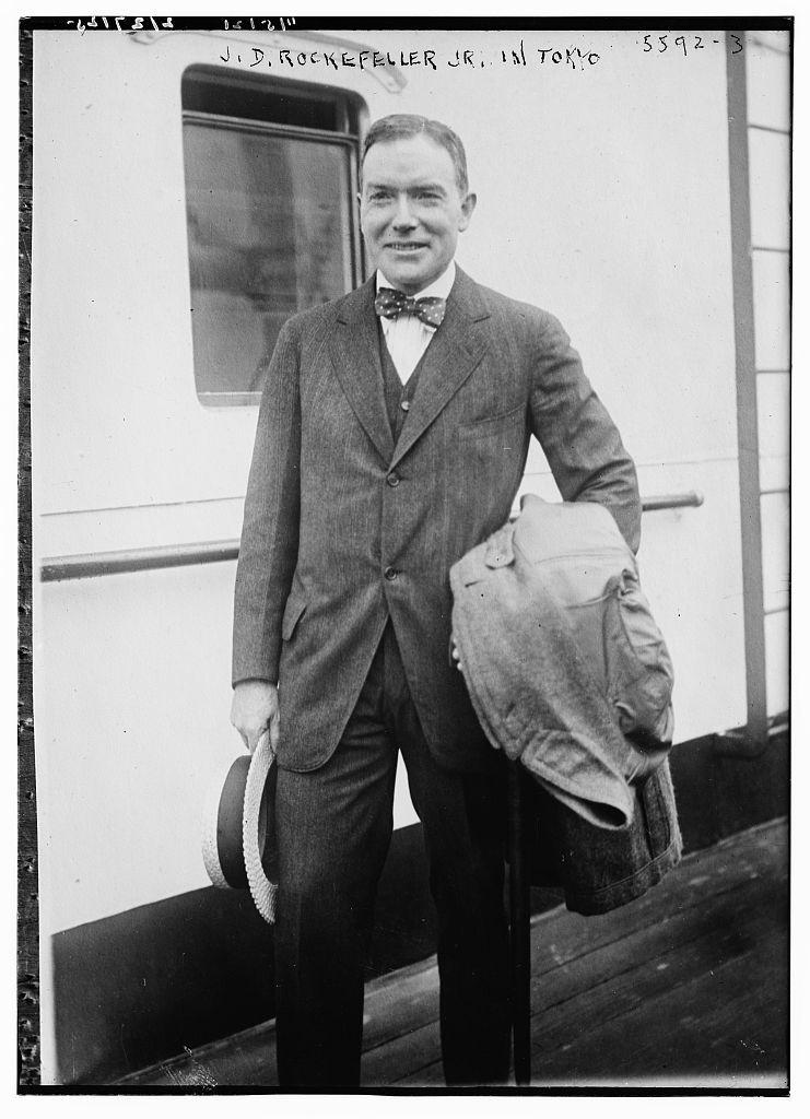J.D. Rockefeller Jr. in Tokyo