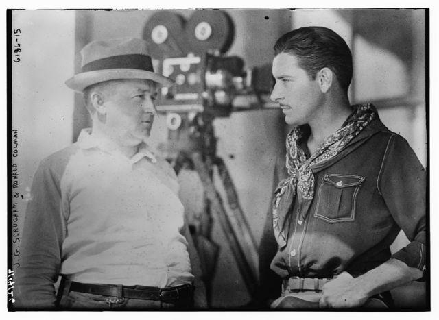 J.G. Scrugham & Ronald Colman