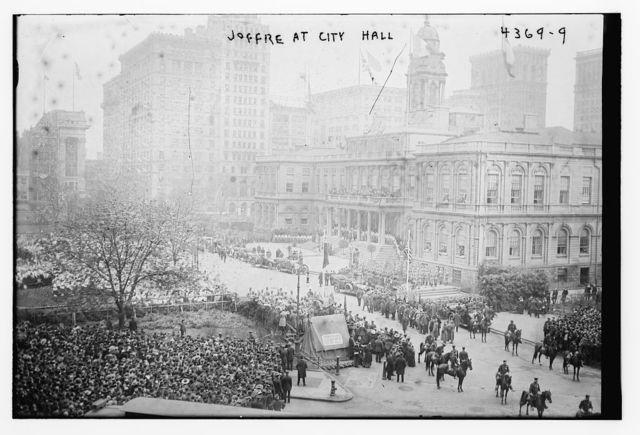 Joffre at City Hall