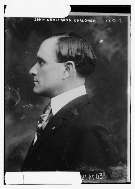 John Armstrong Chaloner from side