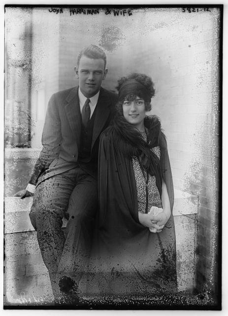 John Harriman and wife