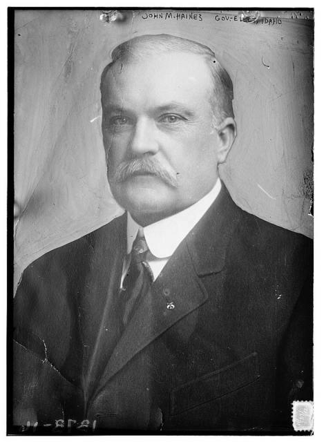 John M. Haines, gov.-elect of Idaho