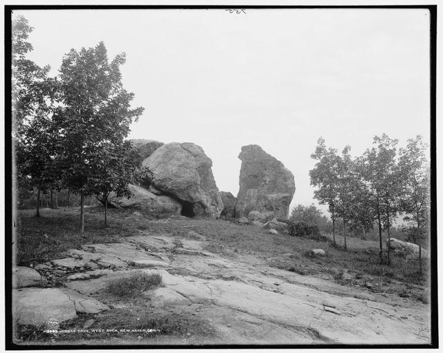 Judges' Cave, West Rock [Park], New Haven, Conn.