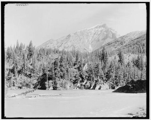 [Junction of the Bow & Spray rivers, Canadian National Park, Alberta, Canada]