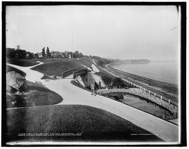 Juneau Park and Lake Michigan, Milwaukee