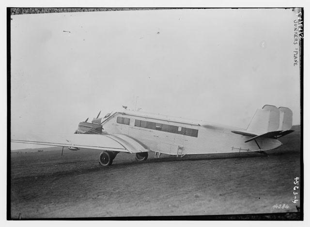 Junkers 'plane