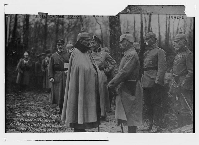 Kaiser, Crown Prince & Prince Henry