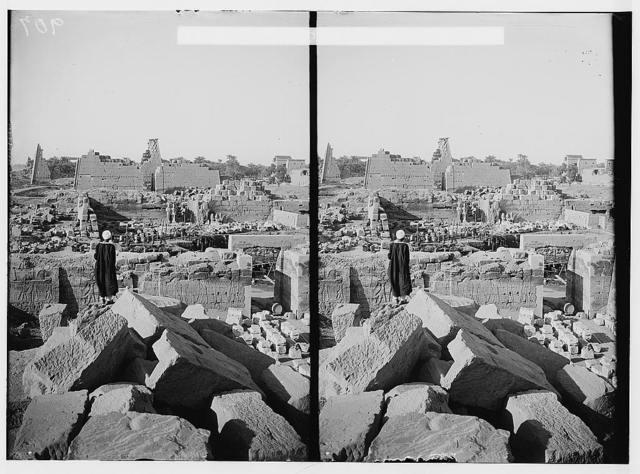 Karnak. Seventh and eighth pylons