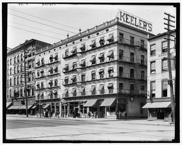 [Keeler's Hotel, Albany, N.Y.]