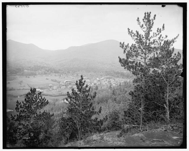 [Keene Valley from the east, Adirondack Mts., N.Y.]