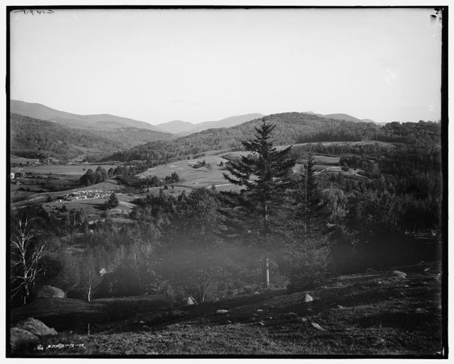 [Keene Valley, Keene Center & Hurricane Mount, Adirondack Mtns., N.Y.]