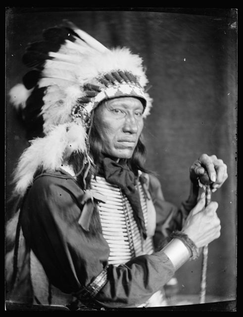 [Kills Close to the Lodge, a Sioux Indian from Buffalo Bill's Wild West Show]