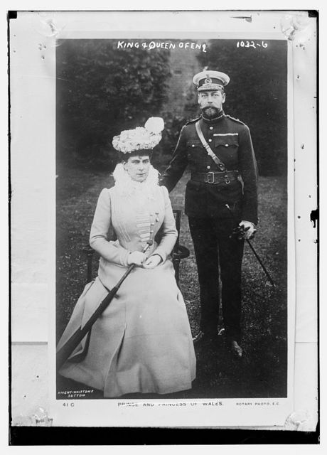 King and Queen of England, Knight-Whittomme Sutton, Rotary Photo. / Knight-Whittomme Sutton, Rotary
