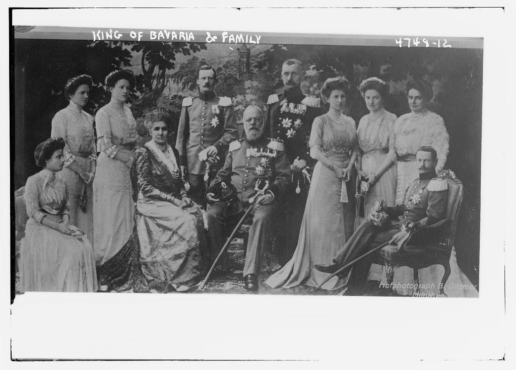 King of Bavaria & family