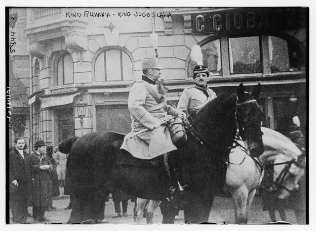 King of Rumania and King of Yugoslavia