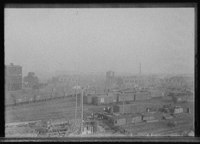 [Kirby Avenue freight station, Michigan Central Railroad]