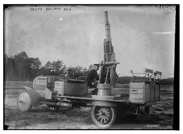 Krupp balloon gun