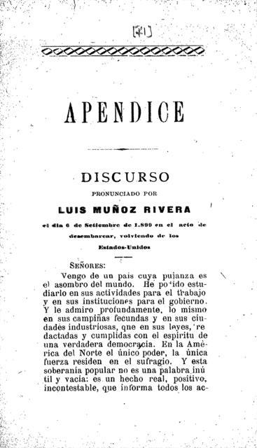 """La disolución colección de artículos publicados en """"La Democracia""""."""