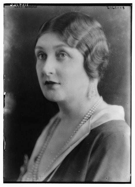 Lady Bowden
