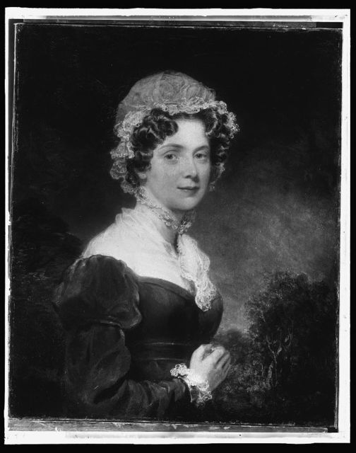 [Lady Lyndhurst, head-and-shoulders portrait]