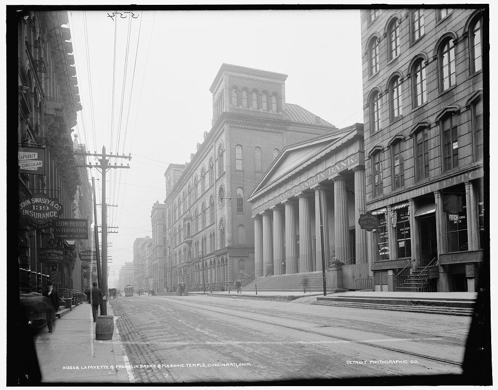 Lafayette & Franklin Banks & Masonic Temple, Cincinnati, Ohio