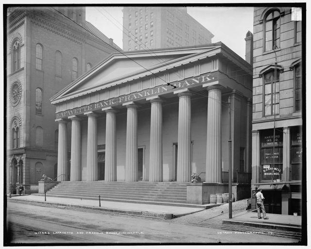 Lafayette and Franklin Banks, Cincinnati, O[hio]
