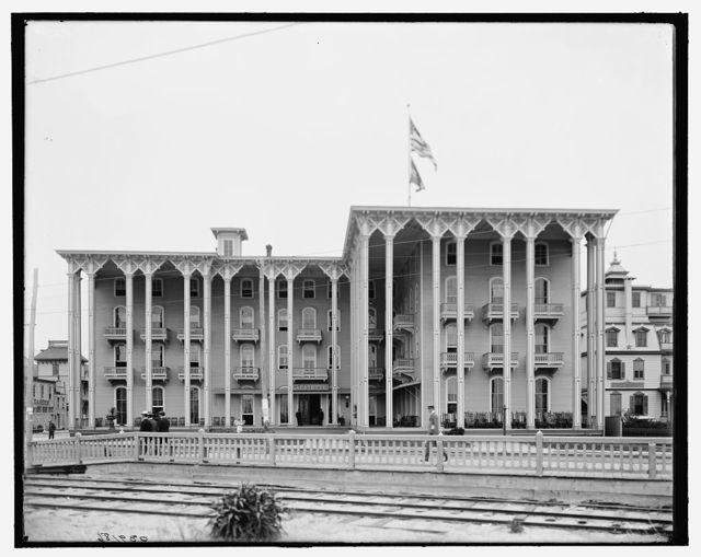[Lafayette Hotel, Cape May, N.J.]