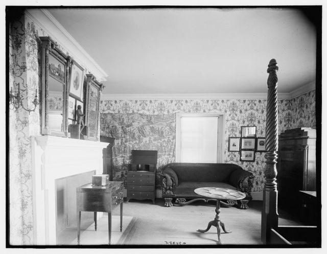 Lafayette room, where Lafayette slept, Washington's headquarters, Morris-Jumel Mansion