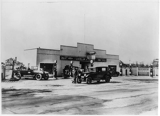 Laidlaw & Clark Chevrolet and Chrysler sales and service, Bayport, L. I., N. Y.