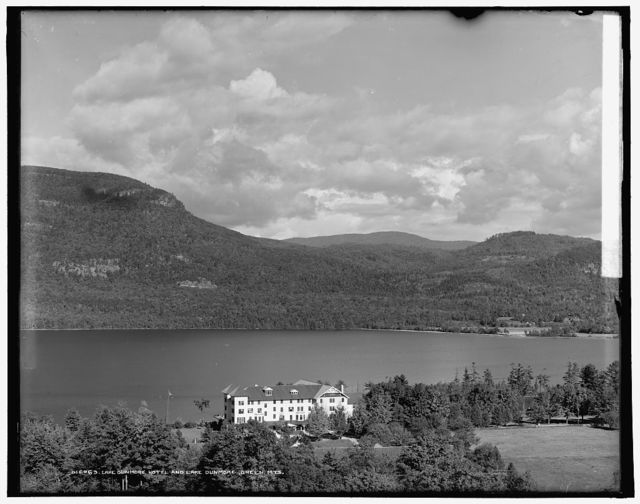 Lake Dunmore Hotel [i.e. Mountain Spring Hotel] and Lake Dunmore, Green Mts.
