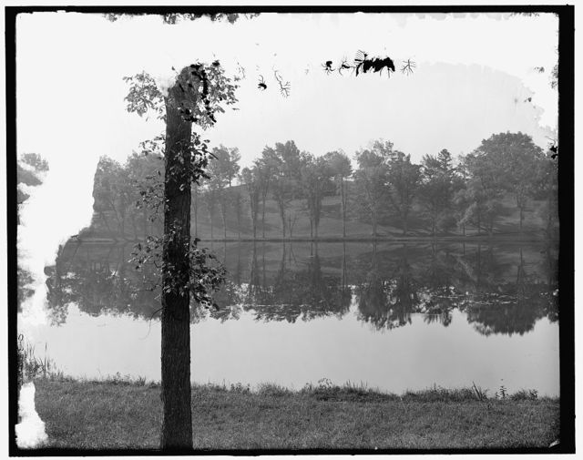 [Lake in asylum grounds, Concord, N.H.]