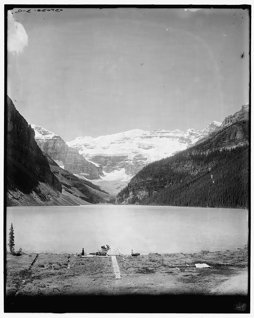 [Lake Louise from chalet, Lake Louise & vicinity, Alberta, Canada]