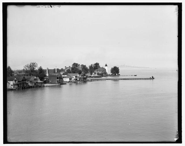 [Lake St. Clair, Windmill Point]