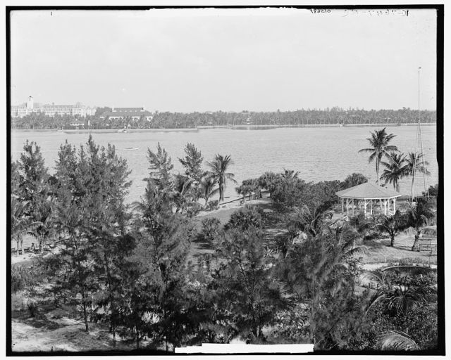 Lake Worth and the Royal Poinciana, Palm Beach, Fla.